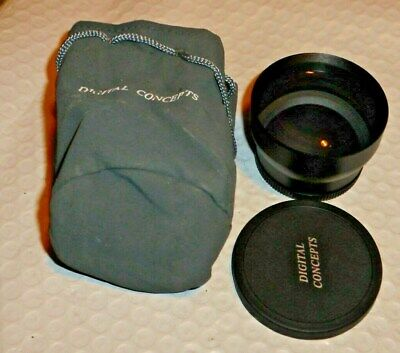 DIGITAL CONCEPTS High Definition 2x Wide Angle Lens M52 (Includes Pouch)