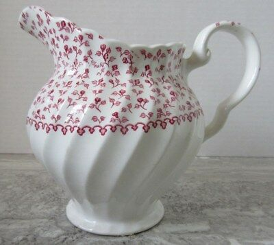 """Old Johnson Brothers Rose Bouquet Small Pitcher England 5 1/2"""""""