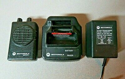 Motorola Minitor V (5) 2-Channel UHF Stored Voice SV Pager 422-430 MHz