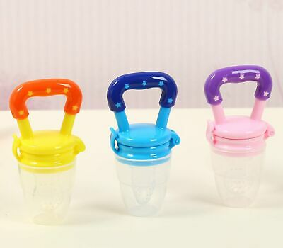 Fresh Food Fruit Baby Feeder Nipple Pacifier Feeding Dummy Soother Weaning TS