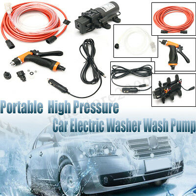 12V Portable 100W 160PSI High Pressure Car Electric Washer Auto Wash Pump   !