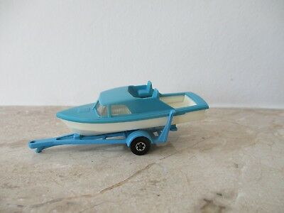 9 Boat And Trailer Autos, Lkw & Busse Fein Repro Box Matchbox Superfast Nr