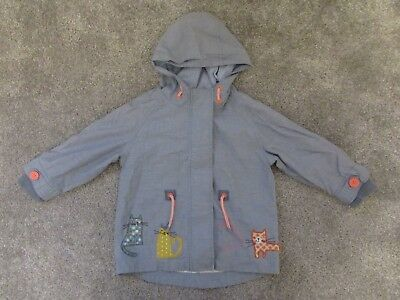 Very cute Next girls cute cat kitten 1.5-2 years 18-24 months jacket coat