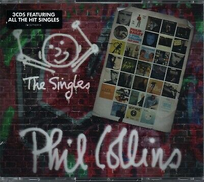 PHIL COLLINS - The Singles - 3xCD Album *NEW & SEALED* *Best Of**Hits*