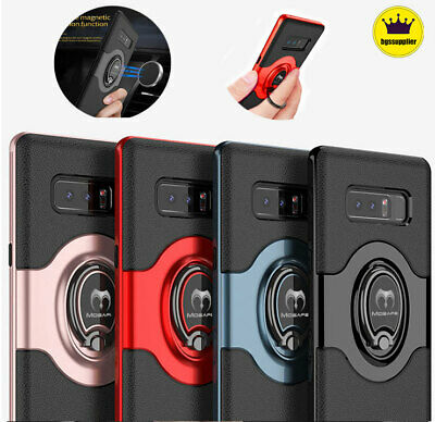 For Samsung Galaxy S10/ S9 S10+ Plus Shockproof Ring Kickstand Holder Case Cover