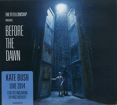 KATE BUSH - Before The Dawn (Live 2014) - 3xCD Album *Digipak*