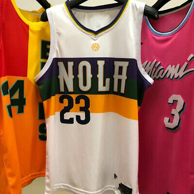 Anthony Davis New Orleans Pelicans Jersey City Edition Mens