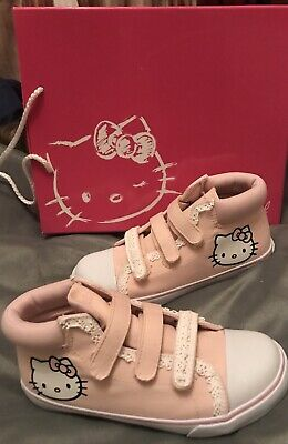 a1f7c8c186 Victoria Couture T 34 : Chaussures Baskets Roses Hello Kitty Broderies  Neuves