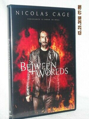 Between Worlds (DVD, 2019) NEW action adventure Nicolas Cage Franka Potente