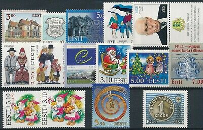 [H17086] Estonia Good lot of stamps very fine MNH