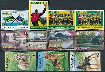 [H17098] Jamaica SOCCER - DOGS - TOURISM Good lot of stamps very fine MNH