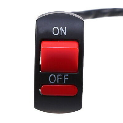 New Universal Motorcycle Handlebar Flameout Switch Double ON OFF Button HA