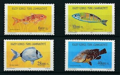 [H11922] Turkish Cyprus 1996 : Fishes - Good Set of Very Fine MNH Stamps