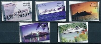 [H12140] Antigua & Barbuda 2001 : Boats - Good Set of Very Fine MNH Stamps