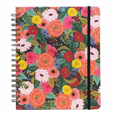 2019 Juliet Rose Spiral 2019 Planner, Decorative Planner by Rifle Paper Co.