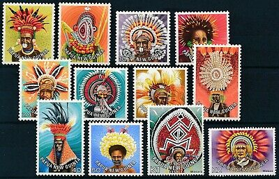 [H12319] Papua New Guinea 1977/78 : Good Set Very Fine MNH Stamps
