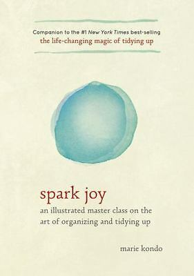 Spark Joy by Marie Kondo (2016, Hardcover)