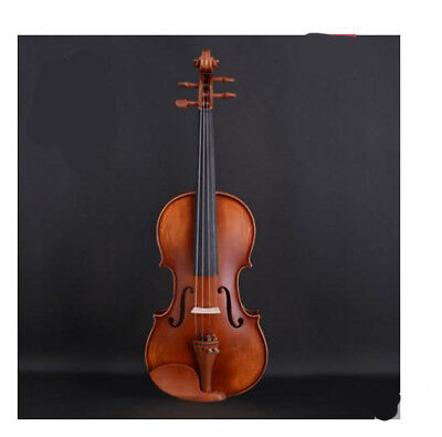 A11 Handmade 4/4 Full Size Wooden Violin Beginners Practice Musical Instrument M