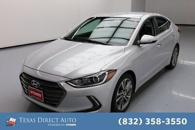 2017 Hyundai Elantra Limited Texas Direct Auto 2017 Limited Used 2L I4 16V Automatic FWD Sedan