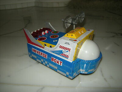 Rot-China Space Toy Universe Car ME-767  Batterie 60er/70er Jahre - Red-China
