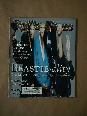 Mike D, MCA & Ad-Rock - The Beastie Boys - Rolling Stone Magazine - #688 - Augus