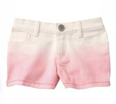NWT Gymboree Jump into Summer Girls White!pink Shortie Shorts Size 12