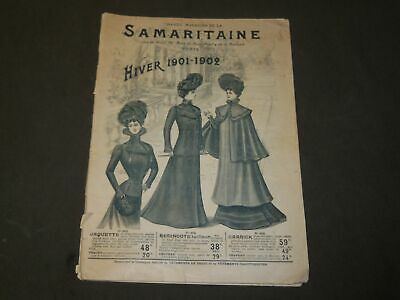 1901-1902 Hiver Grand Magasins De La Samaritaine French Catalogue - Fr 1402