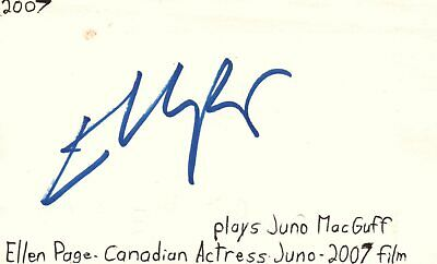 Movies Ellen Barkin Actress Helen In Sea Of Love Movie Autographed Signed Index Card Autographs-original