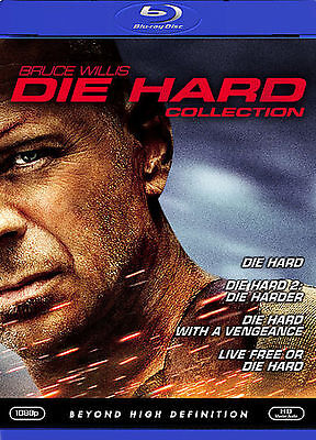 DIE HARD THE ULTIMATE COLLECTION BLU-RAY 4 Movie 4 DISC SET BRUCE WILLIS