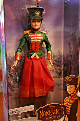 Barbie Signature Doll Nutcracker and the Four Realms Clara's Soldier Uniform NIB