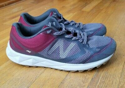 NEW BALANCE WOMEN'S 590v3 Trail Shoes Grey with Purple size