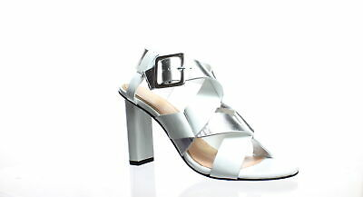 2b91b7a2d322 Robert Clergerie Womens Lissia White Ankle Strap Heels EUR 39.5 (180177)