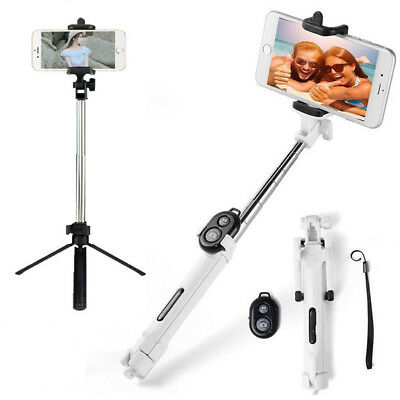 Universal Tripod Bluetooth Monopod Telescopic Selfie Stick Mobile Phone Holder3L