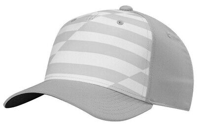 483dcc8ee0e NEW Adidas Golf Pinted Colorblock Flex Fit White Grey Fitted L XL Hat