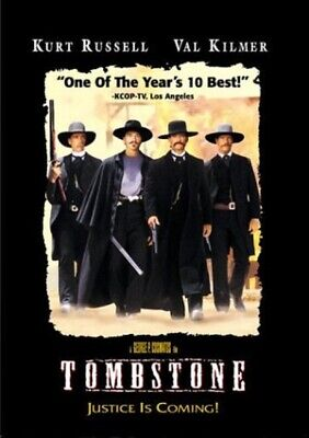 Tombstone DVD Video Kurt Russell George P.Cosmatos DVD Action & Adventure ADD-ON