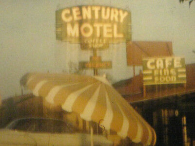 16MM FILM 1950S HOME MOVIE Trip to DALLAS / FT  WORTH TEXAS in Kodachrome  color