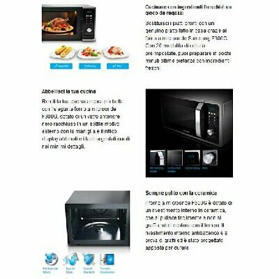 Samsung MG23F301TCS Forno a Microonde con Grill