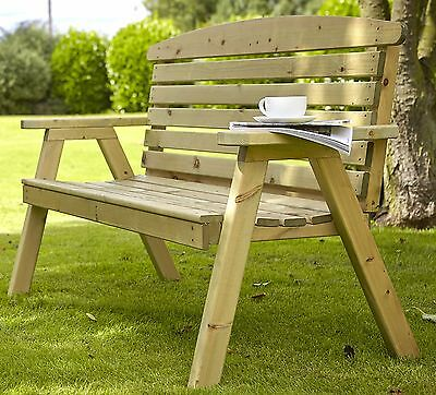 ae1bf07fa33 Large Hetton wooden Garden Bench by Tom Chambers Natures - Wood Furniture  Seat