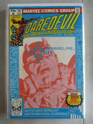 Daredevil Vol. 1 (1964-2011) #167 VF- UK Price Variant