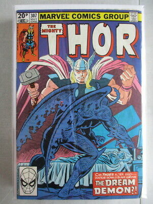 Mighty Thor Vol. 1 (1966-2011) #307 GD/VG UK Price Variant