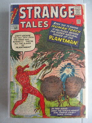 Strange Tales Vol. 1 (1951-1976) #113 GD+