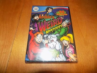 ARCHIE'S WEIRD MYSTERIES THE COMPLETE SERIES Kids TV 40 Episodes DVD SET NEW
