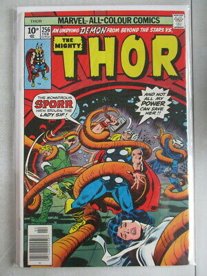 Mighty Thor Vol. 1 (1966-2011) #256 FN- UK Price Variant