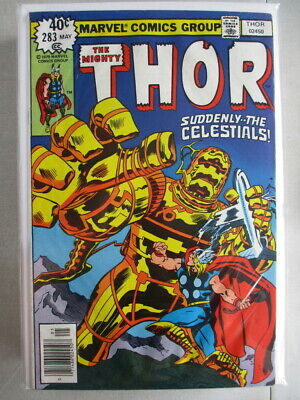Mighty Thor Vol. 1 (1966-2011) #283 VG (Water Damaged)