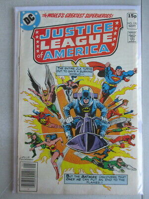 Justice League of America Vol. 1 (1960-1987) #170 VG/FN UK Price Variant