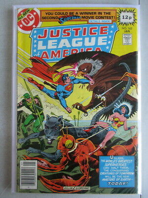 Justice League of America Vol. 1 (1960-1987) #162 VG/FN UK Price Variant