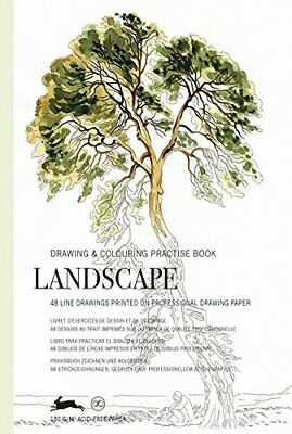 Drawing & Colouring Practise Books - Landscape - 48 sheets 168x250mm