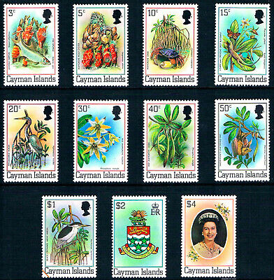 $21.45 Value - CAYMAN ISL. NATURE 1980 - Stamp Sale! MNH NH Combined Shipping