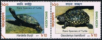 $1.20+ Value - BANGLADESH 2011 TURTLES - Stamp Sale MNH NH Combined Shipping