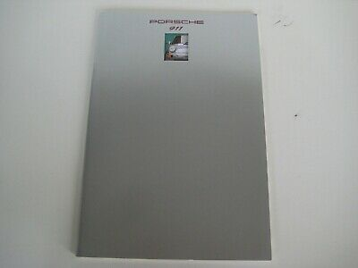 Porsche 1993 911 Deluxe Brochure with Technical Information Insert